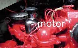 werkzaamheden aan de motor