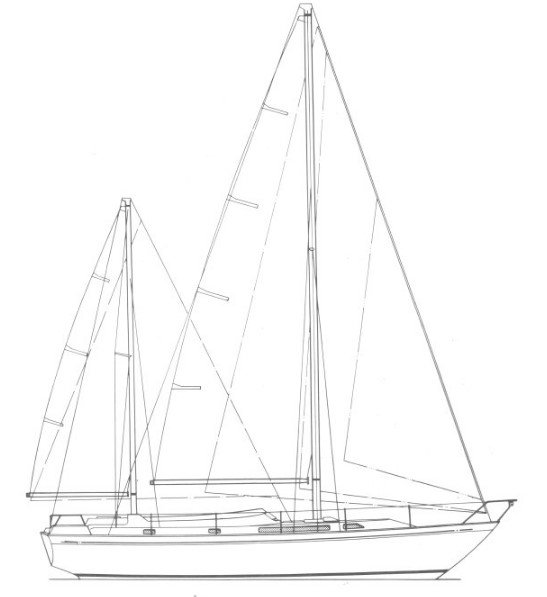 Zeilplan Nicholson 39 kits